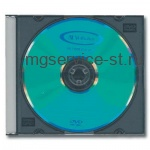 Диск DVD-R(минус) VERBATIM 4,7Gb 16x Colour Slim Case